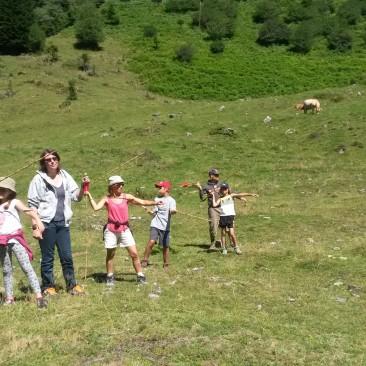 Activités Pyrénées : animation nature trappeur, préhistoire et chasse au trésor